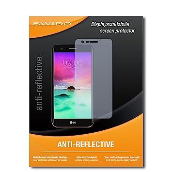 2 x SWIDO® Protector de pantalla LG K10 (2017) Protectores de ...