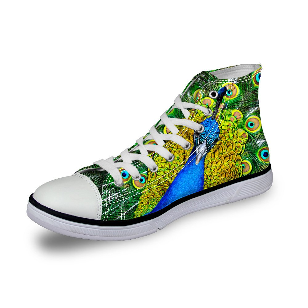 Color : G, Size : 42 Exing Womenss Shoes Printing Canvas Shoes High Help Espadrilles Lace-up Flat Heel Academy Shoes for Office /& Career Dress