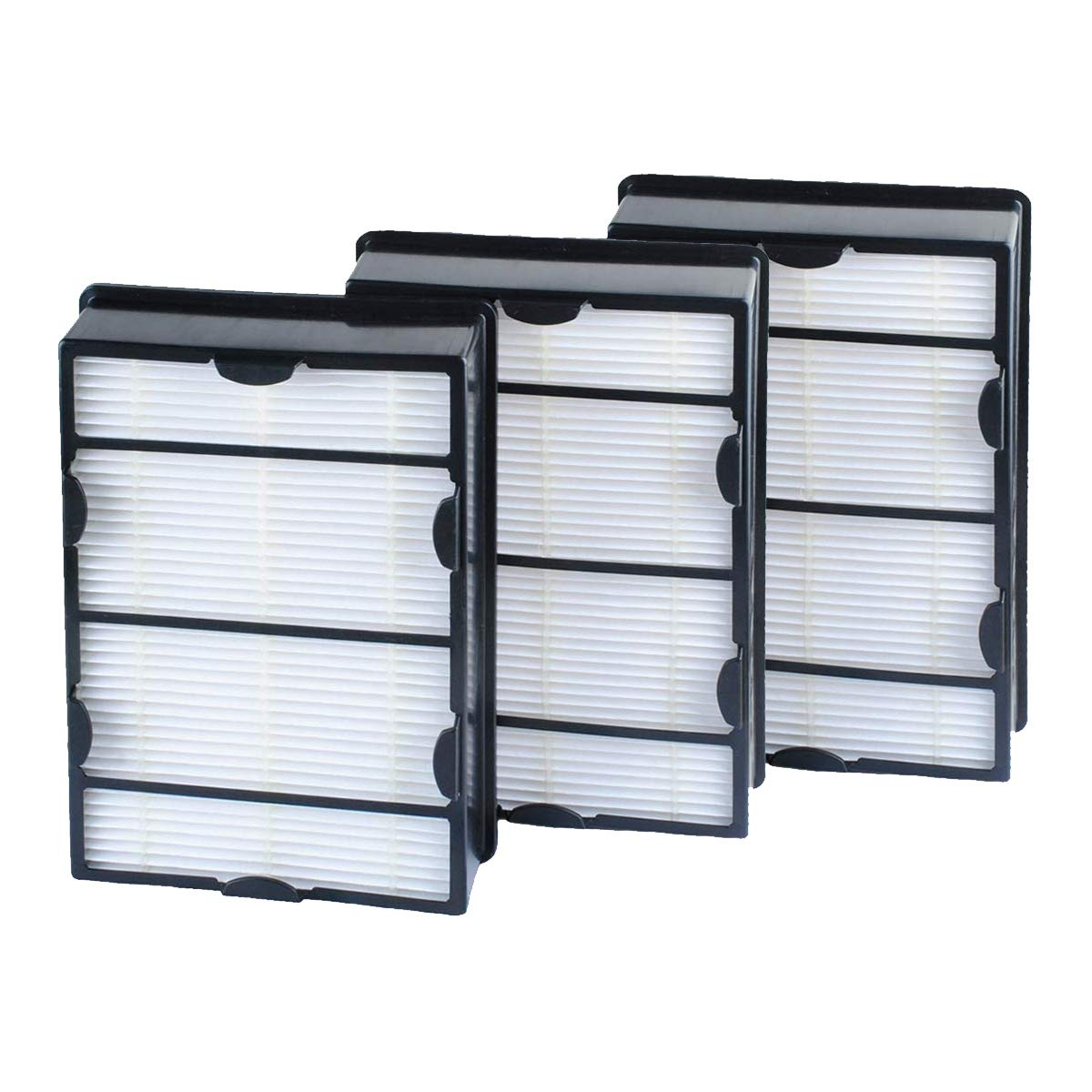 Poweka HAPF600 True HEPA Filter 3 Pack Replace for Holmes B Filter - Compatiable with HAPF600D HAP615 HAP625 HAP650 HAP675RC HAP725 HAP750 HAP1625 HAP1650 HAP1725 HAP1750 Air Purifiers