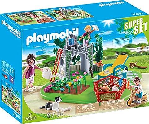 Playmobil Country 70010 Set de Juguetes - Sets de Juguetes (Acción / Aventura, 4 año(s), Chica, Interior,, Farm Animals, Gente, Mascotas)