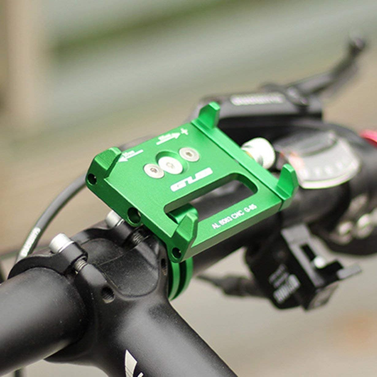 Uniqueheart pour Gub G-85 Support de t/él/éphone de v/élo en Aluminium pour Smartphone Support Universel r/églable GPS Support de t/él/éphone de v/élo