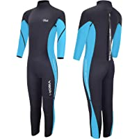 Hevto Wetsuits Kids and Youth Vigor 3mm Neoprene Full Suits Long Sleeve Surfing Swimming Diving Swimsuits Keep Warm Back…