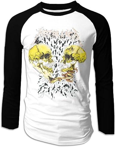 SY COMPACT Metallica - Camiseta de Manga Larga para Hombre - Negro - Large: Amazon.es: Ropa y accesorios