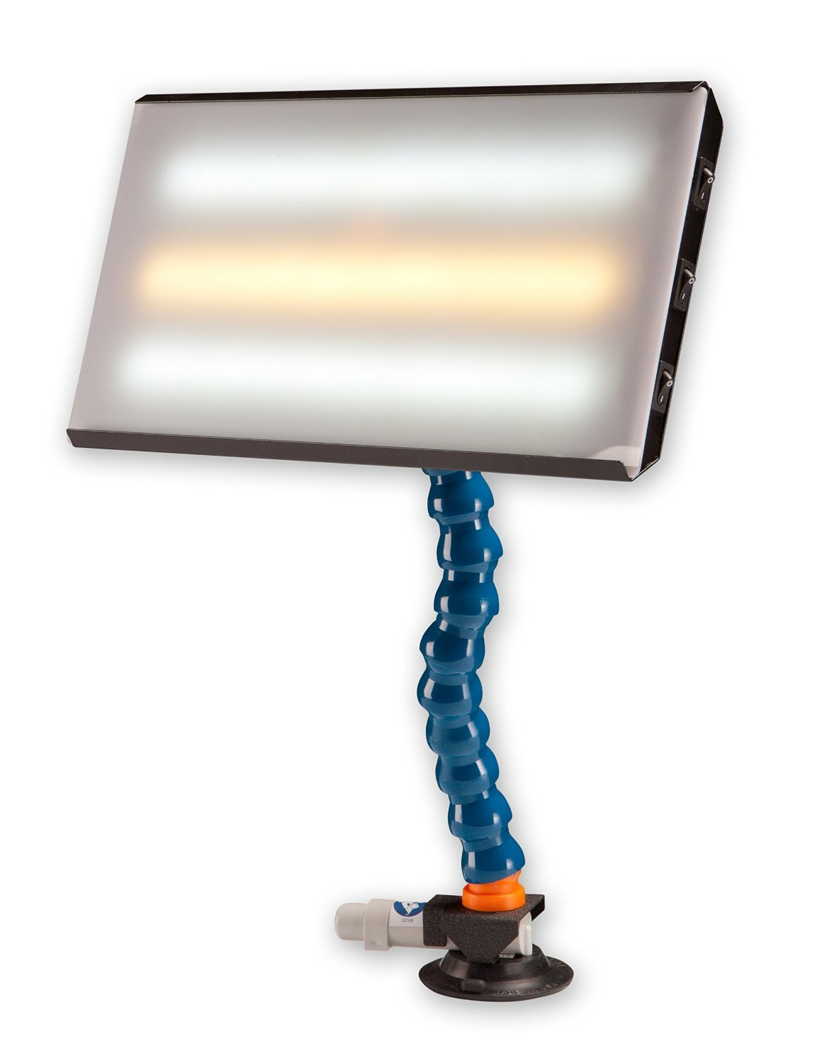 PC LED 130 PDR 13'' Portable 12V CWC LED Light with 110 Converter Paintless Dent Repair by DentMagicTools.com (Image #3)