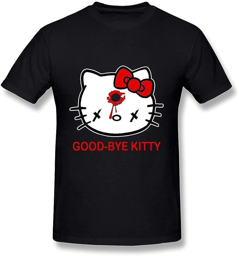 WunoD Men's Goodbye Kitty T-Shirt