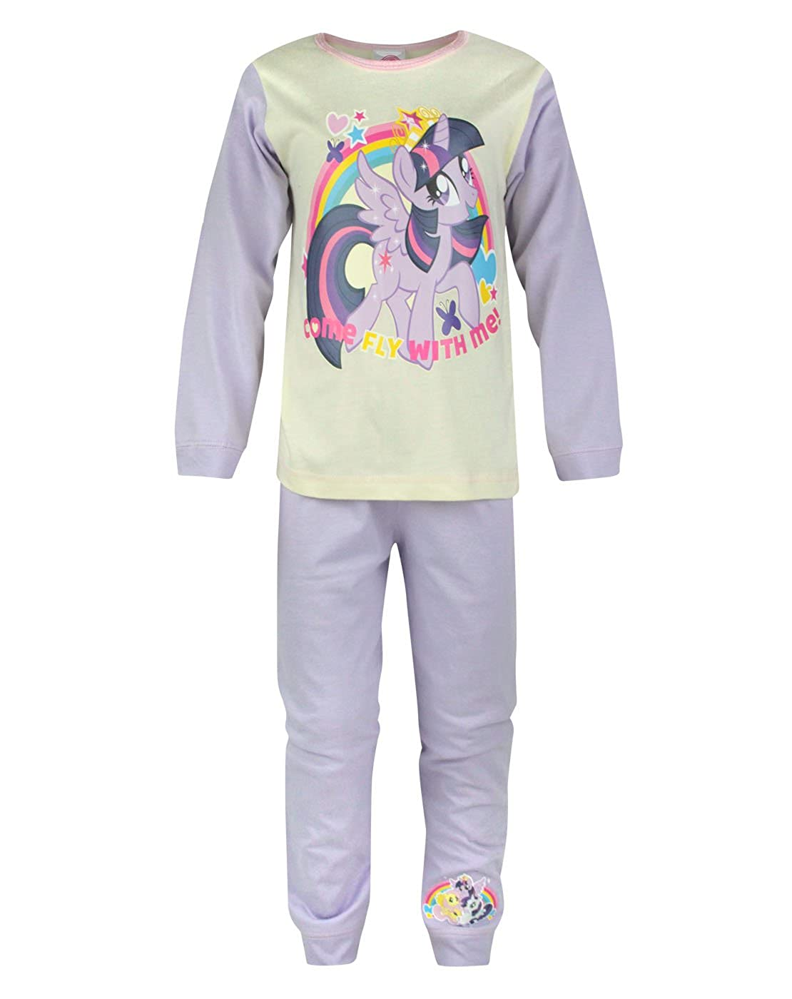 Official My Little Pony Come Fly With Me Girl's Pyjamas