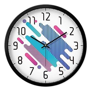 Unbekannt In Der Abstrakten, Geometrischen Modell Wanduhr Uhr Modus Der  Ideen Bild Lounge Wanduhren Modern