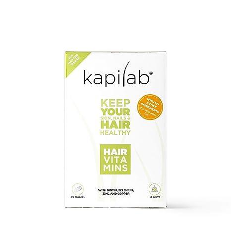 Vitaminas Capilares Kapilab (30 cápsulas): Amazon.es: Salud ...