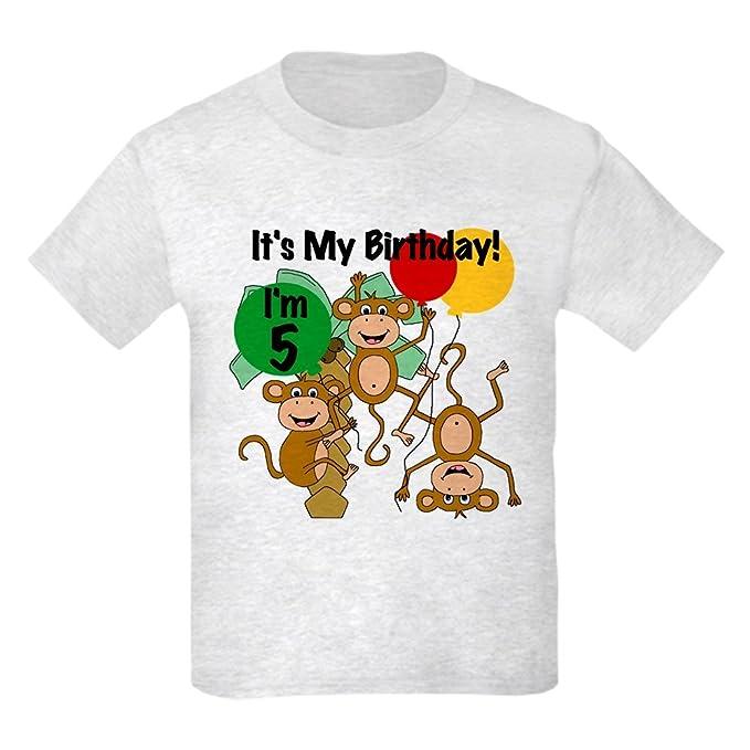 Amazon.com: CafePress Monkey – 5th Cumpleaños Kids luz ...