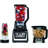 Nutri Ninja Blender Kitchen System with Auto-iQ and Powerful 1200 Watt Motor Base XL 72oz Total Crushing Pitcher and 8-Cup Pr