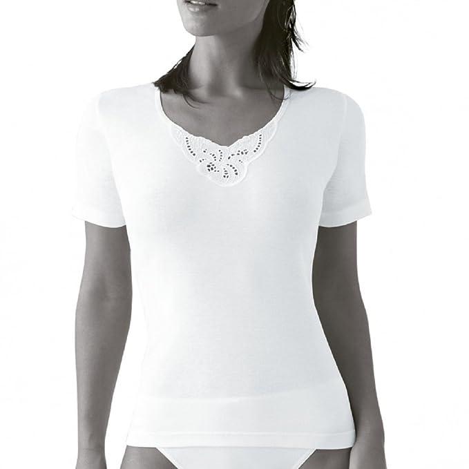 Princesa 4756 - Camiseta Manga Corta Mujer 100% Algodon. (M)