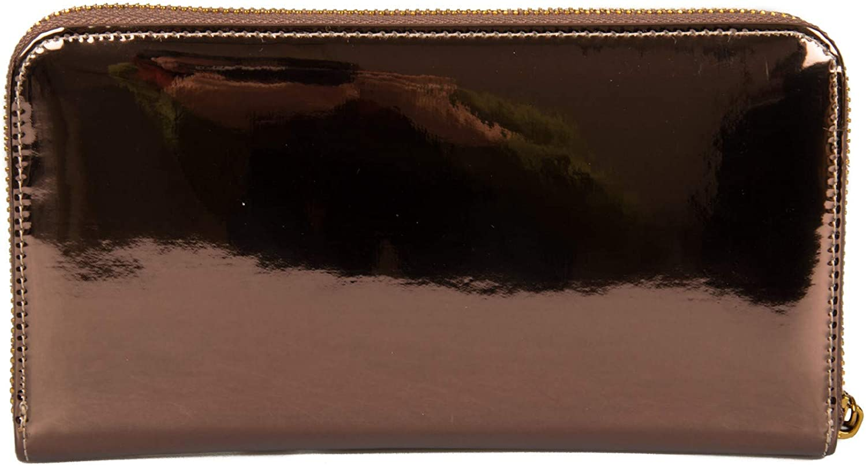 cm.20x10,5 Trussardi Jeans Portafoglio donna articolo 75W00237 9Y099999 ALBA ZIP AROUND 3PKT MIRROR ECOLEATHER