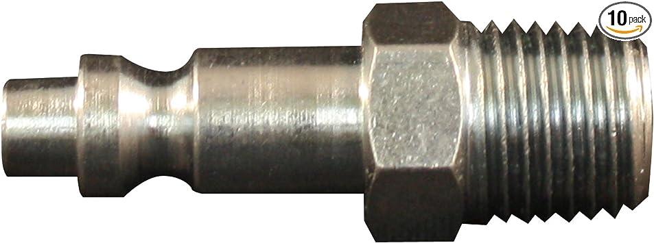 Milton 733 3 8 Mnpt M Style Plug Box Of 10 Air Tool Fittings Amazon Com