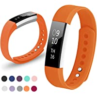 Kutop Fitbit Alta HR Bracelet, Remplacement du Bracelet de Montre en TPU Silicone Molle,Sportif et Réglable pour Fitbit Alta/Alta HR