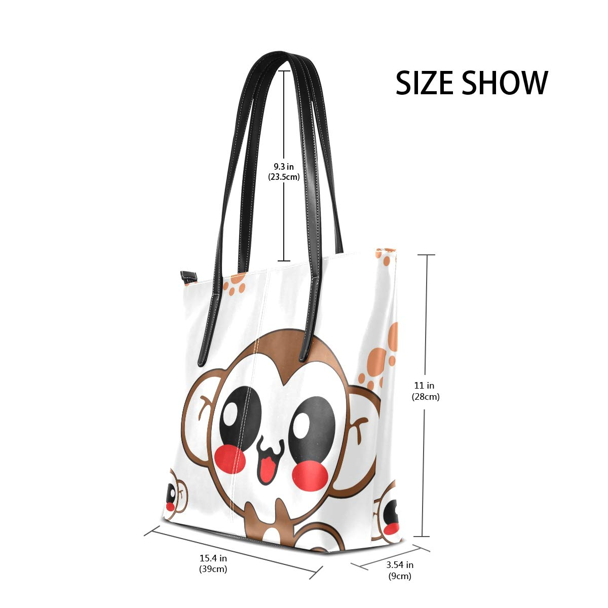 London Travel Telephone Booths Womens PU Leather Tote Shoulder Bags Handbags Casual Bag