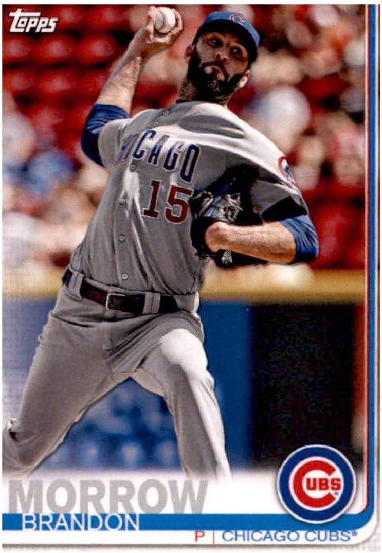 Only 5,585 made! 2018 Topps Living Set #30 Brandon Morrow Baseball Card Chicago Cubs