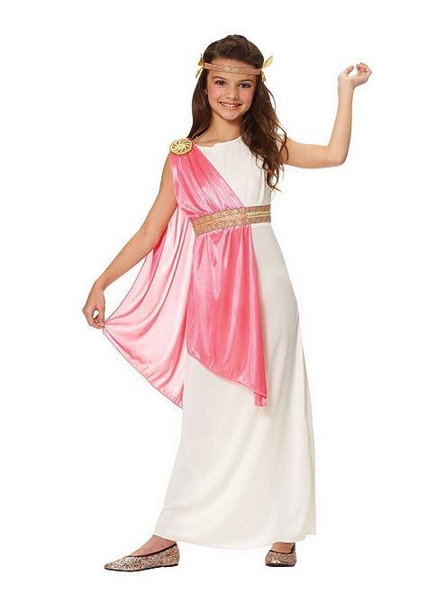 f2c284e03bb3 Amazon.com: Costume Culture Girl's Roman Empress Costume, Ivory, Small:  Toys & Games