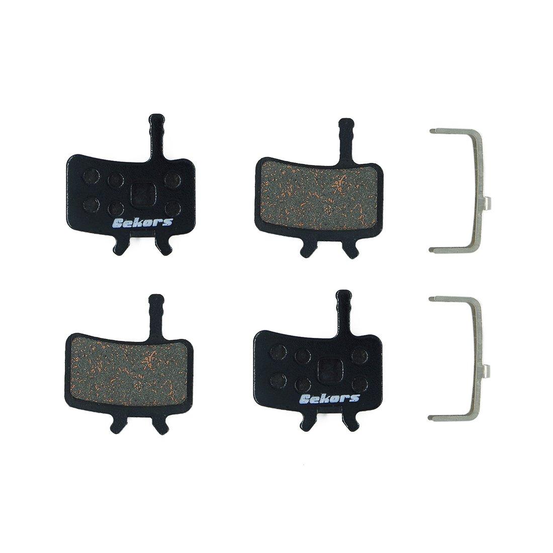 2 Pairs Metal Bicycle Brake Pads for Sram Avid BB7 Mechanical disc brake