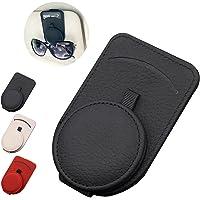 YUGE Sunglass Holder for Car Visor,Adsorption Sunglasses Holder Clip for Storing Glasses Card Mask, for Car Visor…