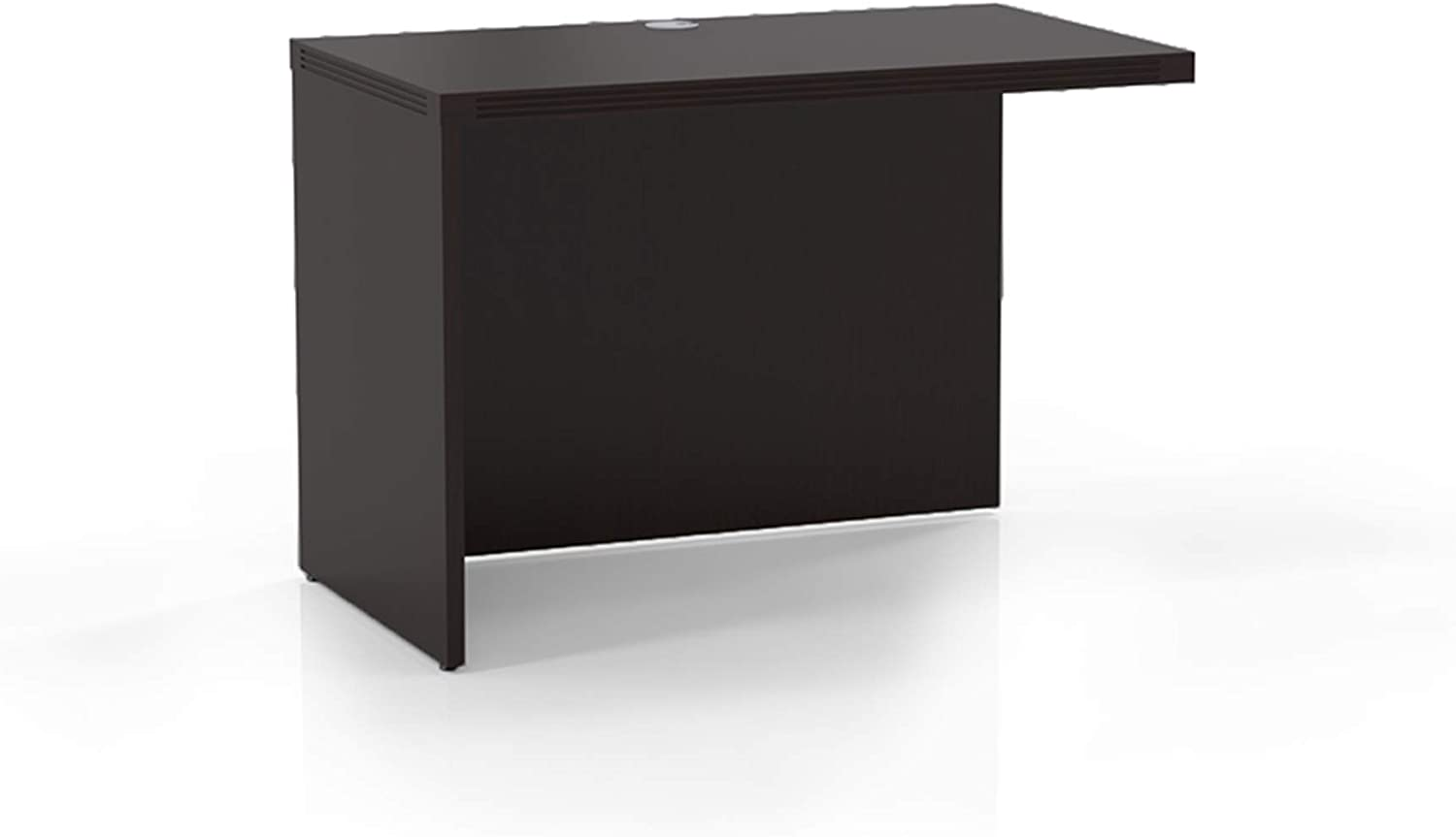 """Mayline Aberdeen Return 42""""W x 24""""D for use with Credenza, Desk or Extended Corner Desk, sold separately, Mocha Tf"""