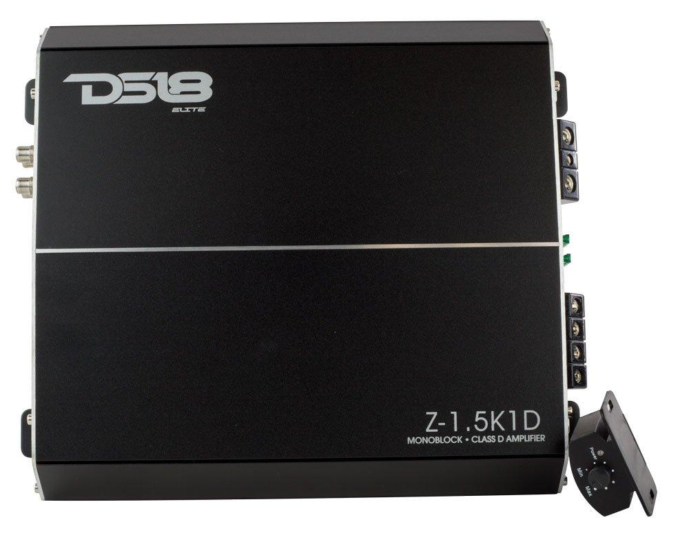ds18 Elite z-9 K1d 9ワット1チャネルクラスD Monoblock高パフォーマンス電源アンプwithリモートサブウーハーレベルコントロール Z-1.5K1D B077112D2J