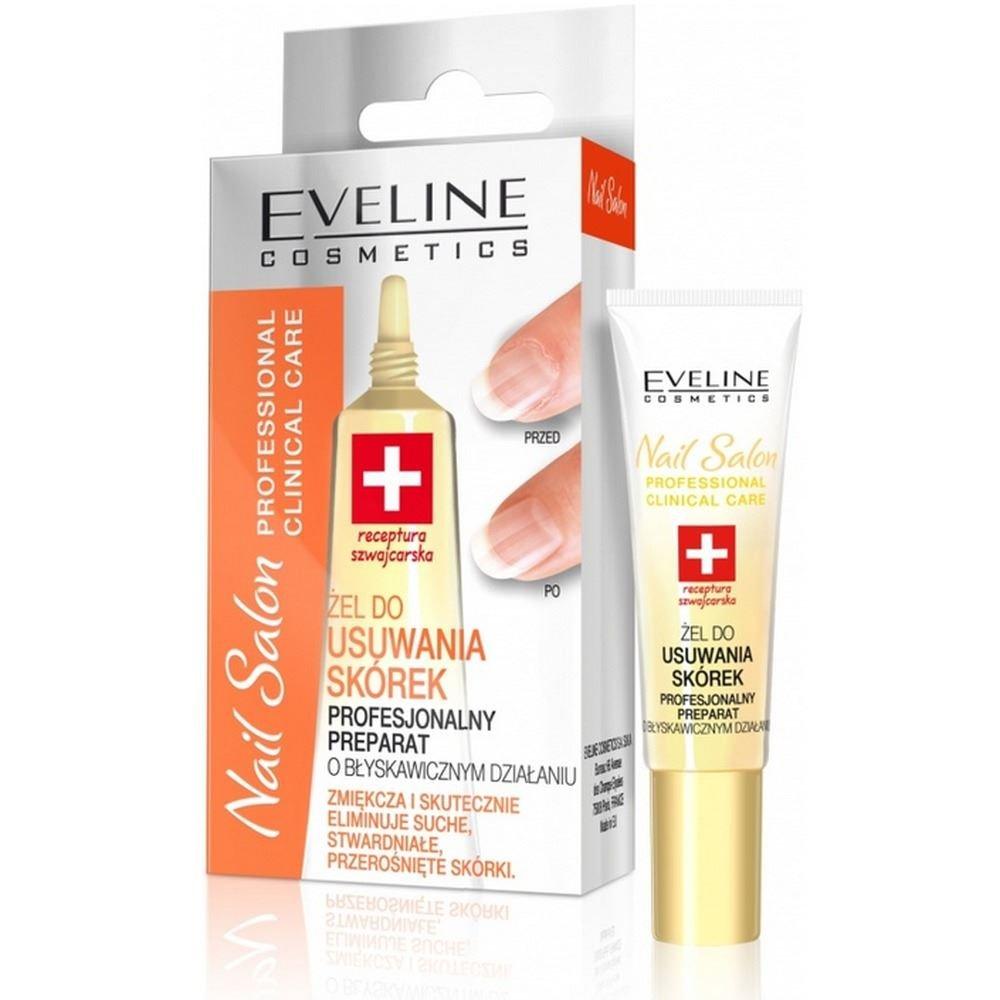 Eveline Nail Salon Cuticles Gel 10ml Eveline Cosmetics