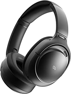 Mu6 Space2 Triple Digital Active Noise Cancelling Headphones with 6 Mic Built-in, 3D Touch Control, Hi-Fi Sound, Extra Bass, Memory Foam Earpad, Wireless Bluetooth Headphones for Work Travel TV Call
