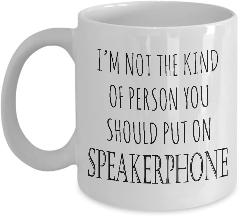 xmas Cup Coffee Mug Gift Do I Look Like A People Person Funny Novelty
