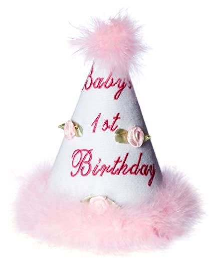 Image Unavailable Not Available For Color Beistle 60245 Babys 1st Birthday Cone Hat