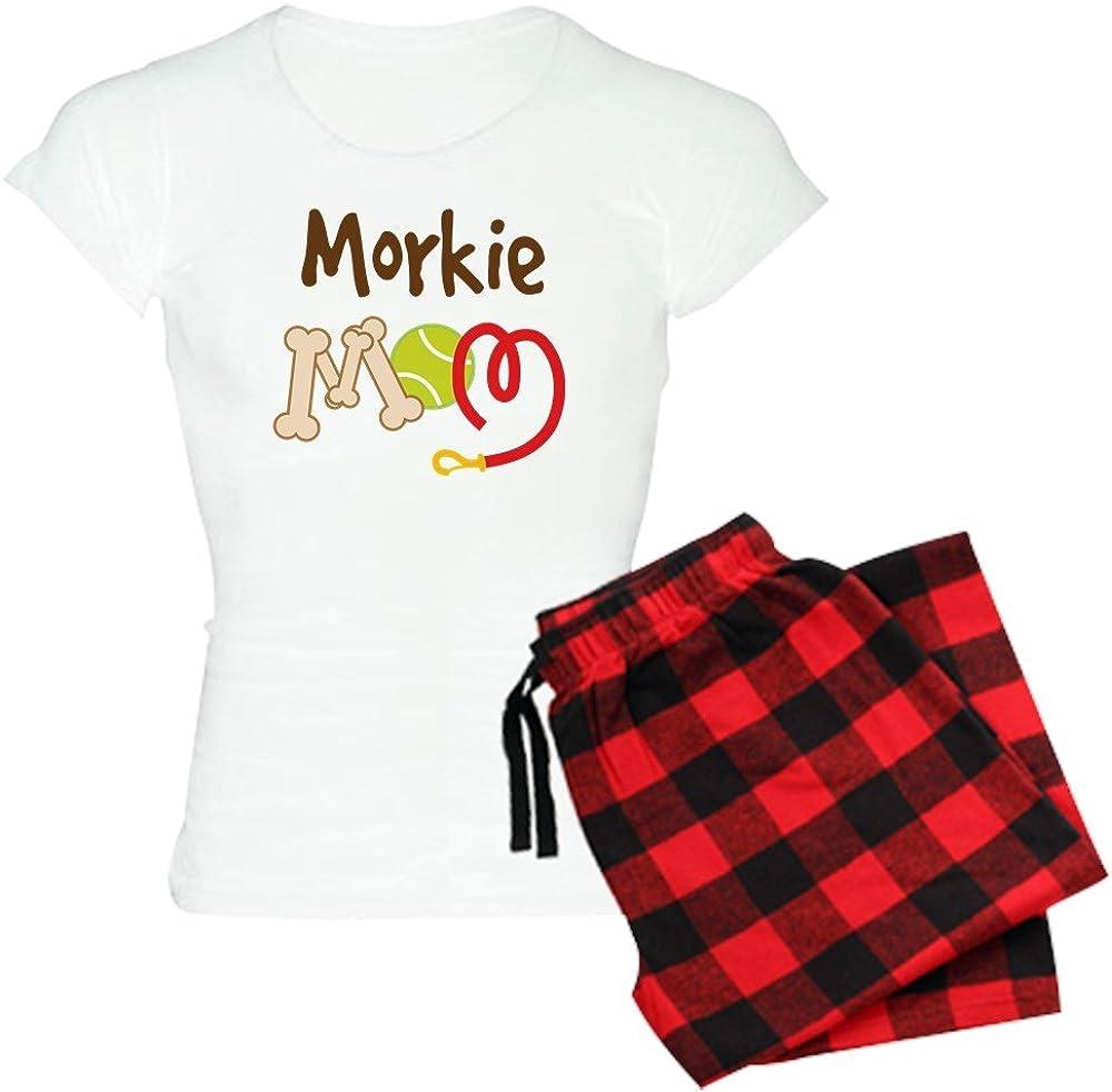 CafePress Morkie Dog Mom Womens Light Pajamas Womens PJs