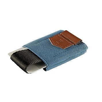 Cartera Billetera Minimalista | Cartera fina y pequeña | Tarjetero sencillo | Billetera pequeña para hombre y mujer | By Minimalism Brand (Azul): Amazon.es: ...