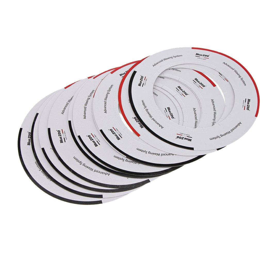 Fenteer Collari Riscaldanti Per Scaldino Con Scaldacera Di Protezione Standard Di Tipo Pentola Da 10 Pezzi
