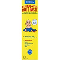 Boudreaux's Butt Paste Diaper Rash Ointment | Original | 4 Ounce (Pack of 1) | Paraben & Preservative Free