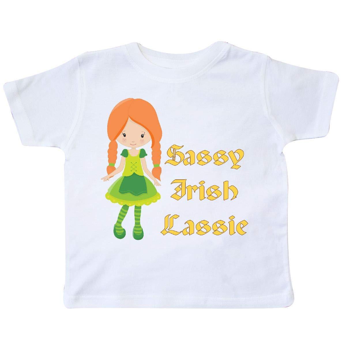 inktastic Sassy Irish Lassie Toddler T-Shirt