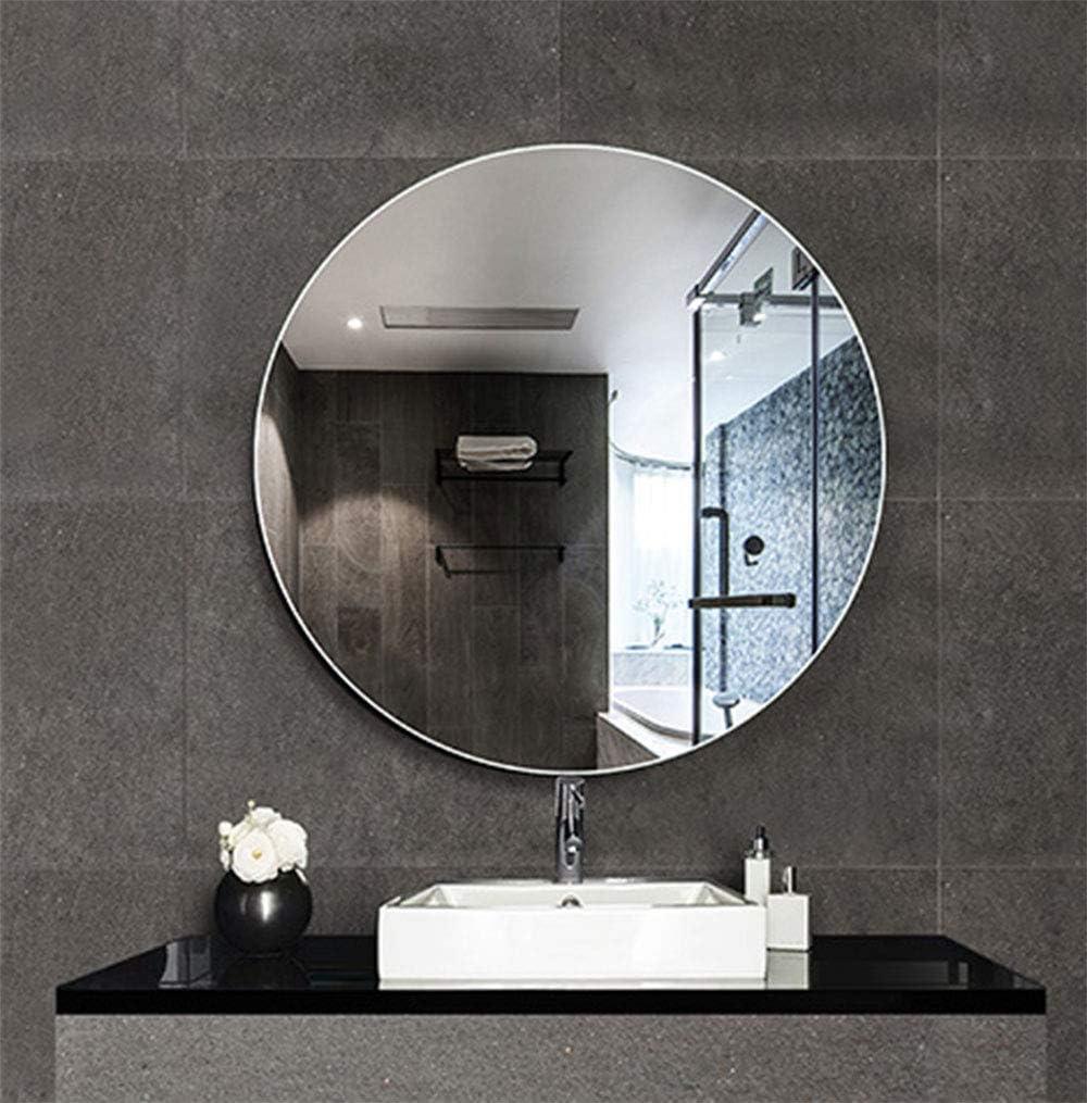 Specchio da Parete Tondo Retroilluminato Impermeabile e Antideflagrante Specchi per Luce LED da Bagno Bathroom mirror Specchio