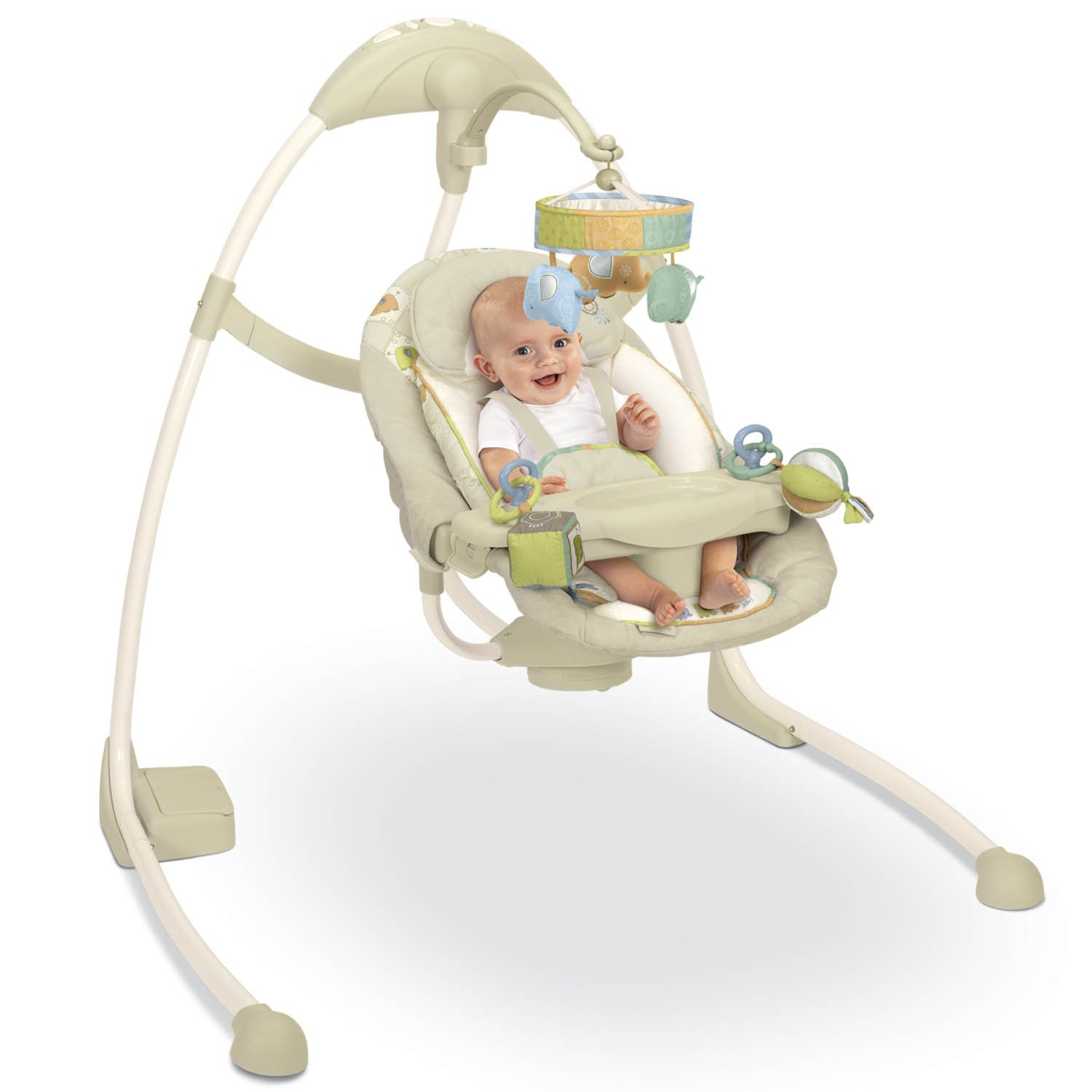 b0ebbbf3b KIDS II Bright Starts Kashmir Ingenuity Full Size Swing: Amazon.ca: Baby