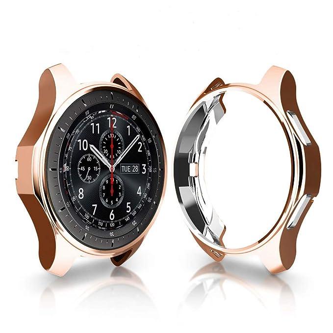 iHYQ - Funda para Samsung Gear S3 Frontier SM-R760, TPU Resistente ...