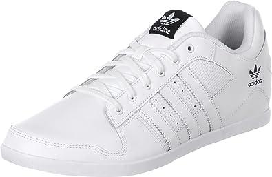 adidas uomini plimcana basso basso alto scarpe bianche dimensione: