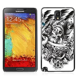Hard Case or Cover for Samsung Galaxy Note 3 Vintage Skull Pirate Tattoo iphone cases for girlsiphone case for men