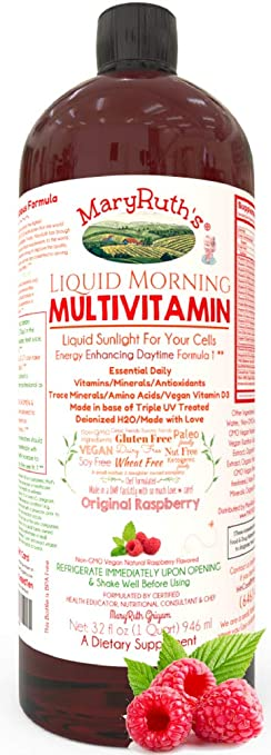 Product thumbnail for MaryRuth Vegan Morning Multivitamin-Best for Men and Women