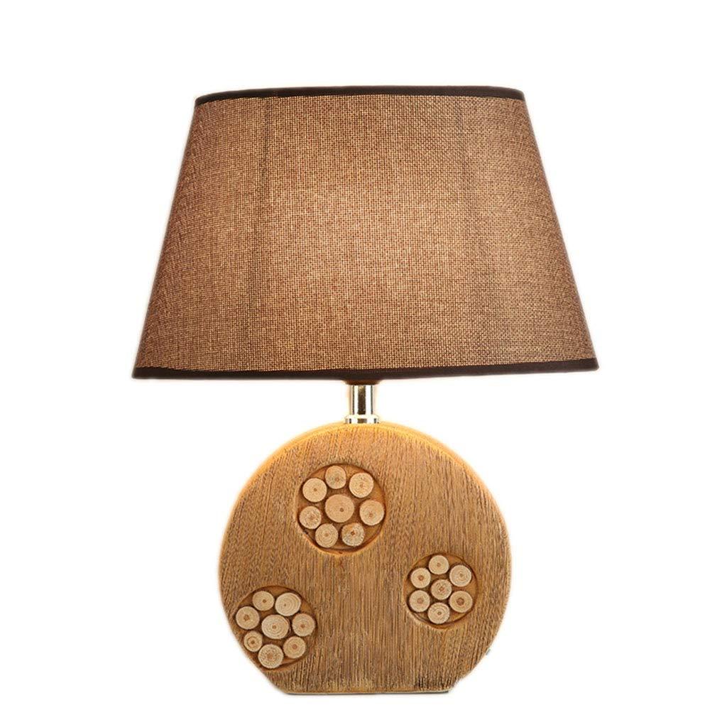 & Tisch- Nachttischlampen Tischleuchte LED-Licht Schreibtischlampe Drehbare Studie lösen Lampe Büro Schlafzimmer Nachttischlampen Nachtlicht Keramik Dekorative Lichter Familie Leselicht ( Farbe   A )