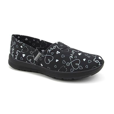 Women's Cute Lightweight Nursing Shoes - Memory Foam - Printed - Florence Ocean: Shoes