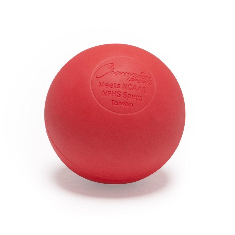 ChampionスポーツNCAA NFHS認定ラクロスボール レッド B006JANLLK B006JANLLK レッド レッド レッド, BIVLABO:67562cc9 --- zonespirits.xyz
