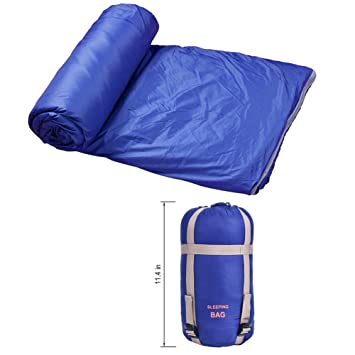 Tenn Well Sleeping Bags Large Lightweight Waterproof Rectangular Bag For Camping Hiking Dark