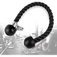 Tricep Rope Pull Down, Heavy Duty Bicep Rope Cable Aattachment voor armkrachttraining