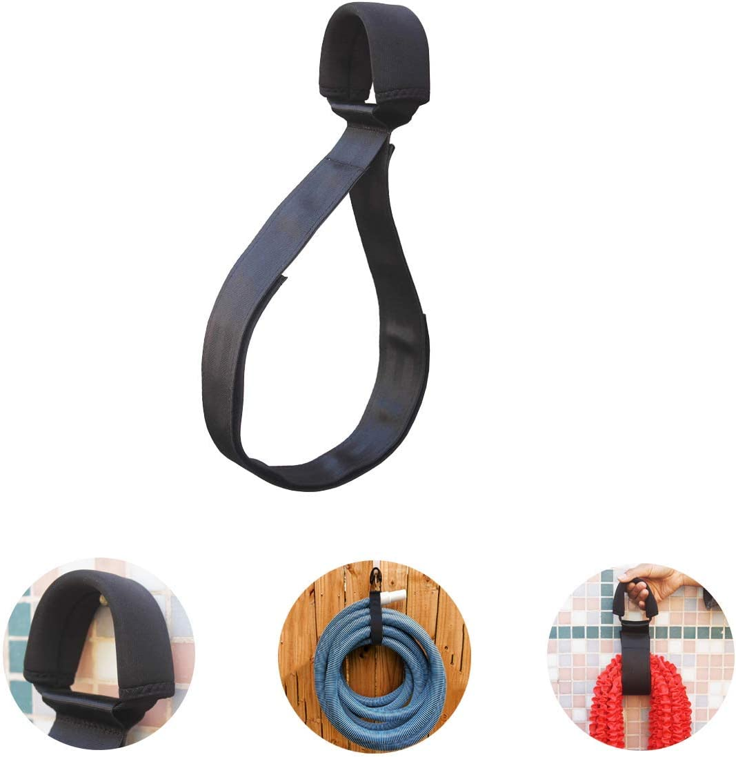 Hose Hanger Carrier Holder, One Swimming Pool Vacuum Cleaner Hose Hanger for Vacuum Electric Pools Garden, Easily Store Carry Your Vacuum Hoses