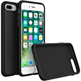 iPhone 7 Plus Case, RhinoShield [SolidSuit Carbon Fiber] Heavy Duty. Shock Absorbent. Ultra Thin Scratch Resistant with. 11ft Drop Protection Rugged Cover - Carbon Fiber