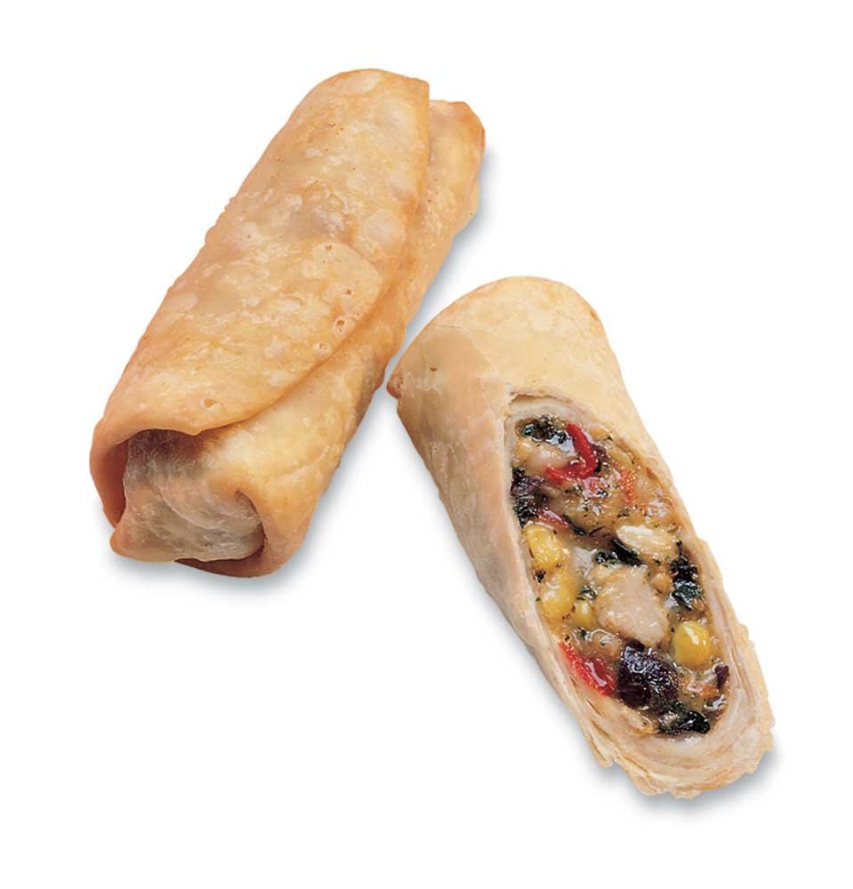 McCain Anchor Wrappetizers Sante Fe Brand Chicken Egg Roll - Appetizer, 15 Pound -- 1 each. by McCain