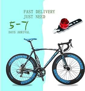 Extrbici - Bicicleta profesional de carretera XC700, ruedas 700 C ...