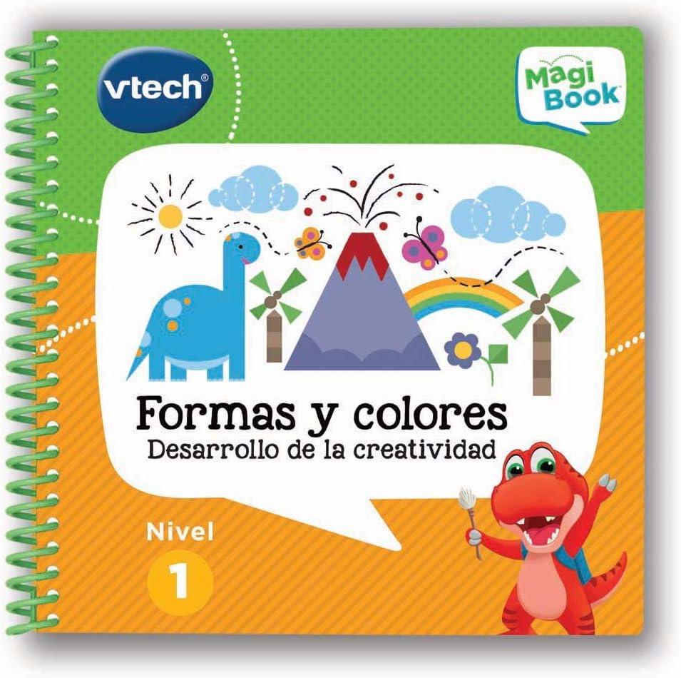 VTech – Formas y Colores Libro para Magibook, Multicolor (3480-480522)